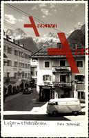 Salzburg, Lofer mit Hotel Bräu, Tabak Trafik