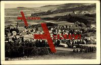 Kratzau Sudetengau, Blick zum Ort, Kirche