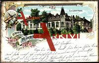 Mücheln Geiseltal, Seitenansicht v.Schützenhaus