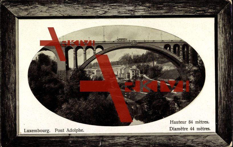Passepartout Luxemburg, Pont Adolphe, Ortschaft