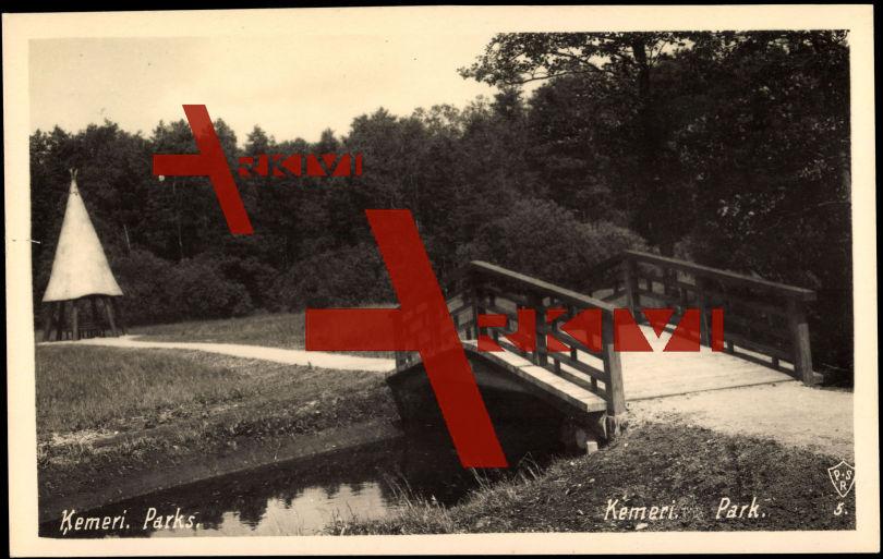 Kemeri Lettland, National Parks, Bridge, Hut