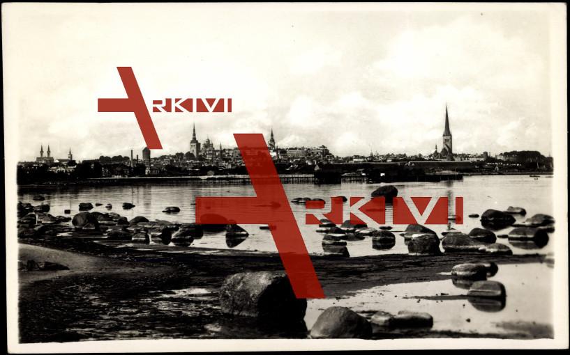Tallin Estland, Blick aus Katharinental, Ufer