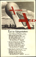 Lied Lied der Luftsperrbatterie, Ballon der Wehrm.