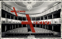 Celle, Theater, Blick auf Logen und Sitzreihen