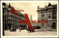 Reichenberg, Blick auf diverse Gebäude, Kutsche
