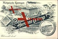 Auerbach, Mechanische Kammgarn Weberei