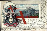 Wappen Hohen Neuffen, Pulverturm, Brunnen