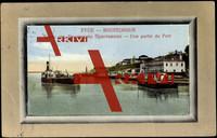 Passepartout Roustchouk Bulgarien, Hafen, Schiffe