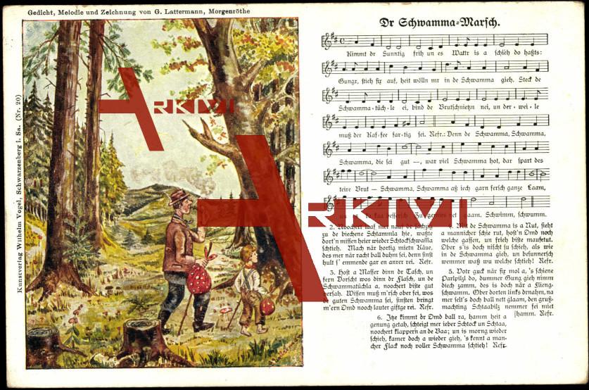 Lied Vogel W., Lattermann G., Dr Schwamma...