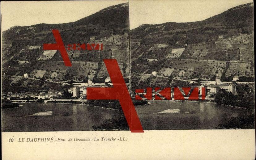 La Tronche Isère, Vue générale, La côte