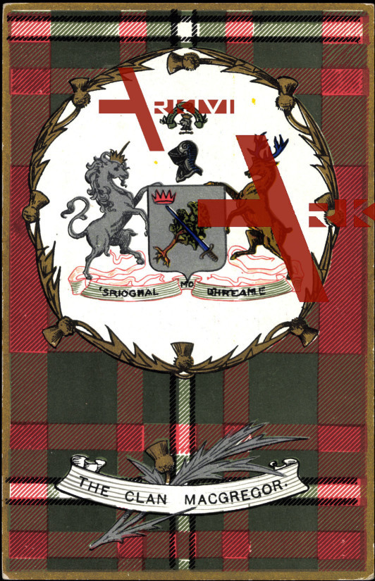 Wappen The Clan Macgregor, 'S Rioghal Mo Dhream