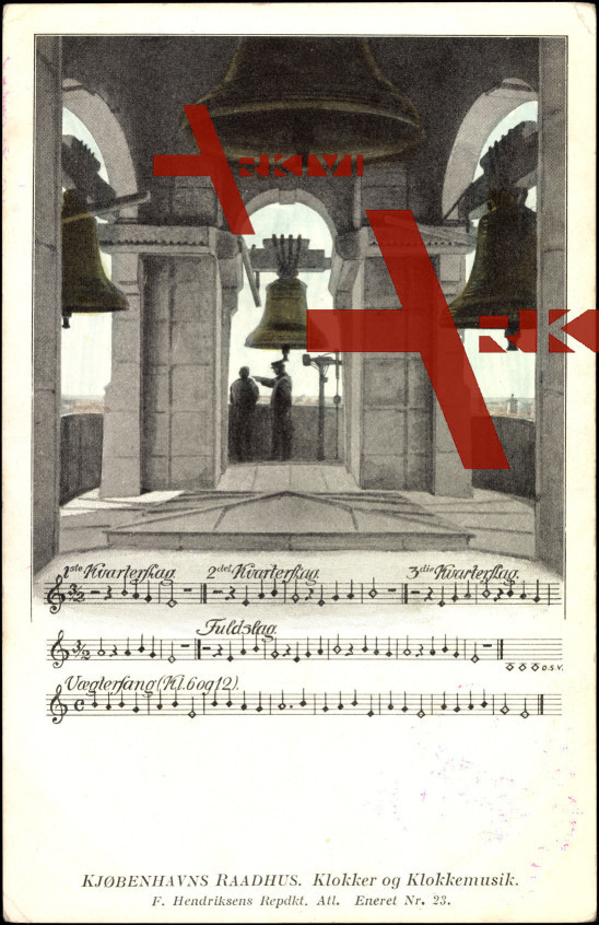 Lied Kopenhagen Dänemark, Glocke und Glockenmusik