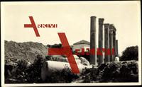 Byblos Libanon, Ruinen, Säulen, Wohnhaus, Hügel
