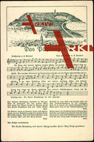 Liedkarten R. Reubert, Das Böhlberglied
