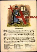 Liedkarten F.E. Krauss, K. Richter, Kinderlied