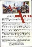 Liedkarten Alfr. Kaden, Grüß Gott, mein Annaberg!