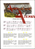 Liedkarten F.E. Krauß, R. Krauß, Sechs fette Küh