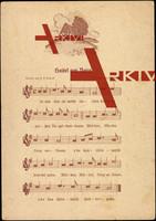 Liedkarten F.E. Krauß, J. Ulbricht, Haisel am Barg