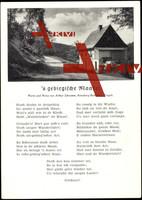 Liedkarten Arthur Schramm, 's gebirgische Maadel