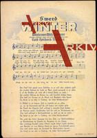 Liedkarten Curt Herbert Richter, S' werd Winter
