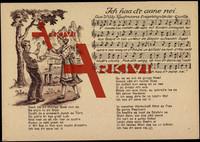 Liedkarten Willy Kaufmann, Ich haa d'r aane nei