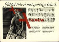 Liedkarten S. Dietrich, Schlot när ei mei goldiges..