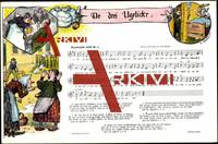 Liedkarten O. Peuschel, De drei Ugelick'r