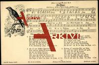 Liedkarten H. Goph, Mundart Nr. 4, Da Zipp