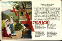Liedkarten Mückenberger, Jung gefreit, hatt nie...