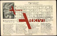Liedkarten Hans Goph, Mundart Nr. 18, Mei Stübela