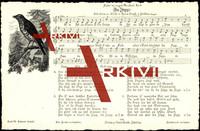 Lied Soph H., Nr. 4, Da Zipp, Vogel auf einem Zweig