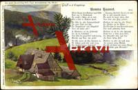 Lied Röder, Unnera Haamet, Bauernhaus, Erzgebirge