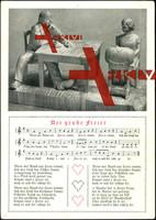 Lied Der gruße Freier,Holzfiguren,Frau,Mann,Klöppeln