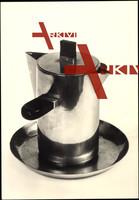 Bauhaus, Wilhelm Wagenfeld, Sauciere mit Untersatz