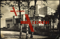 Rostock Warnemünde, Blick auf das Kurhaus, Bauhaus