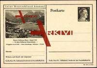 Ganzsachen Schliersee, 50 J. Bauerntheater, See,6 pf