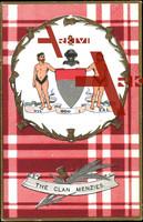 Wappen The Clan Menzies, Vil God I Zal,Scottish clan