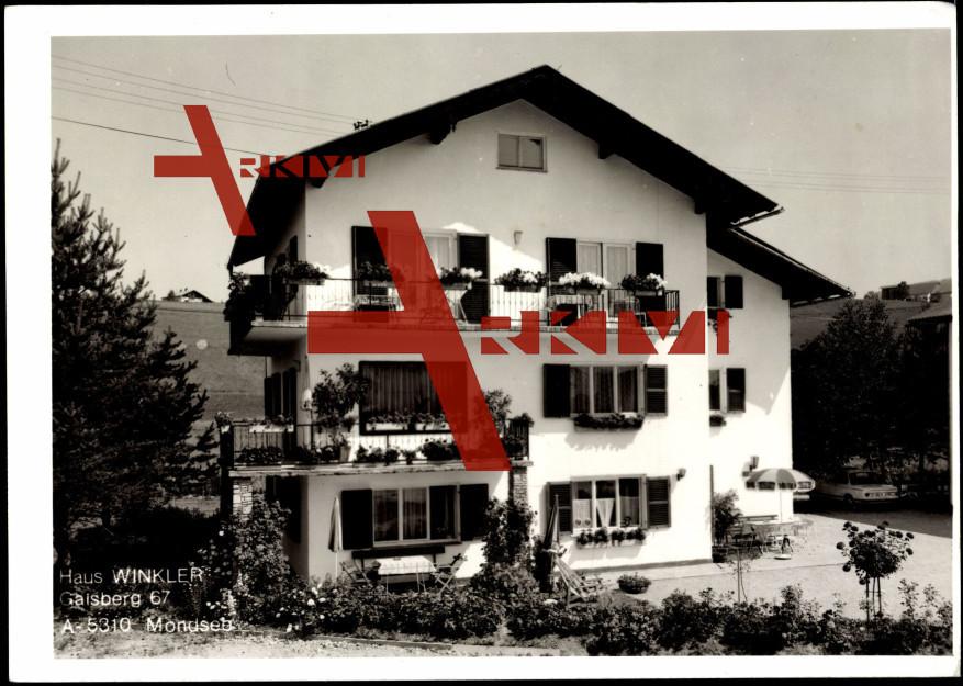 Mondsee Gaisberg Oberösterreich,Haus A. Winkler