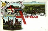 Stecklenberg, Hotel zum Wurmthal, Lauenburg,Total