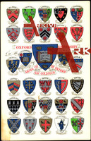 Wappen Studentika Oxford University,Arms of Colleges