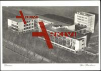 Dessau, Fliegeraufnahme der Bauhaus ademie