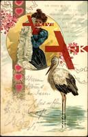 Der Storch ist ein gutes Tier,bringt Kinder, Herbst