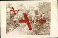 Landwirtschaft, Pflücker, Feld, Gruppenfoto