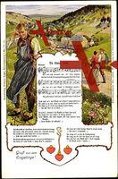 Lied De biese Lieb, Walzer, Erzgebirge, Liebe