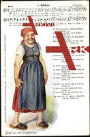Lied Hilmar Mückenberger, 's Bärbele, Walzer,Erzgeb.