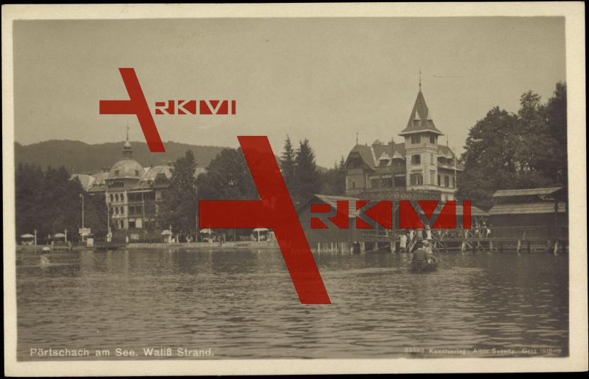 Pörtschach am See Kärnten, Waliß Strand, Hotels