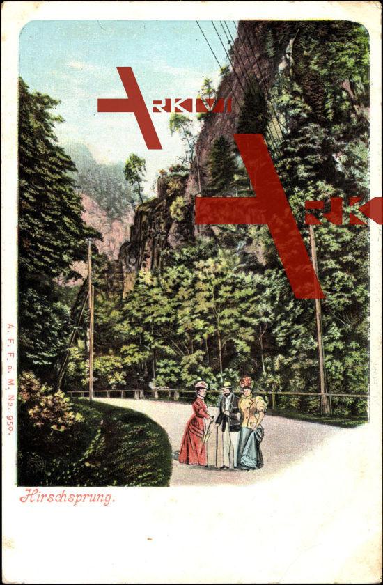 Hirschsprung Altenberg Ergebirge, Damen, Felsen