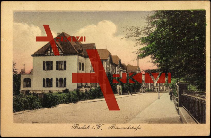 Bocholt Westfalen, Bismarckstraße, Wohnhäuser