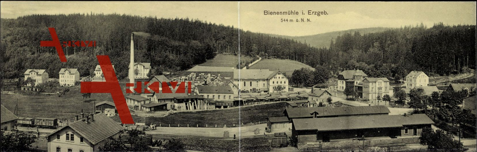 Klapp Rechenberg Bienenmühle Erzgebirge, Fabrik