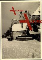 Melk Niederösterreich, Straße, Schnee, Stift